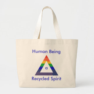 Recycled Spirit canvas bags