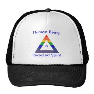 Recycled Spirit Rainbow Triangle hats