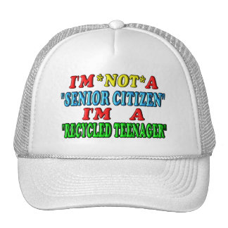 Recycled Teenager Mesh Hats