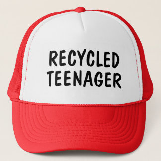 Recycled Teenager Trucker Hat