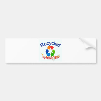 Recycled Teenagers Logo.jpg Bumper Sticker