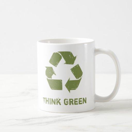 RecycleLogo, Think Green Mugs