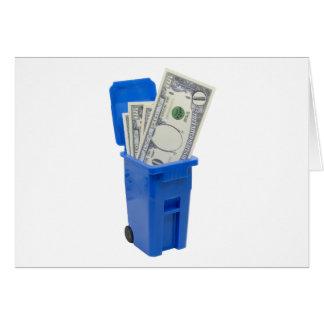 RecycleNoMoney053109 Greeting Card