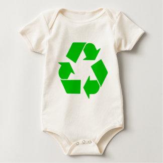 Recycling Baby Bodysuit