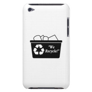 Recycling Bin iPod Touch Cases