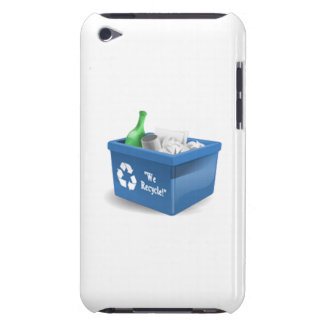 Recycling Bin Barely There iPod Cases