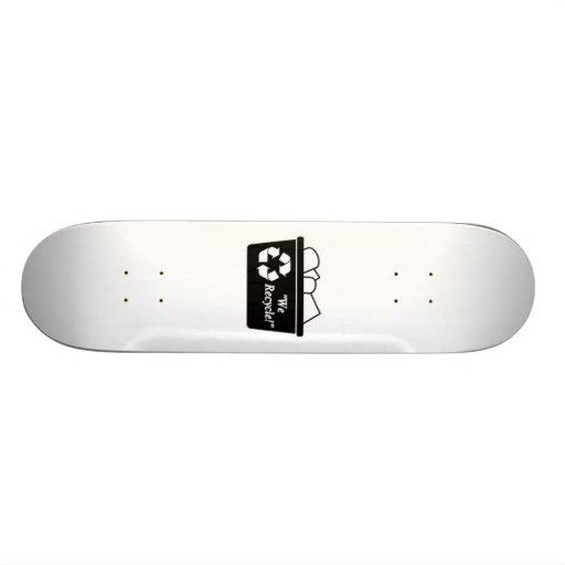 Recycling Bin Skateboard Decks