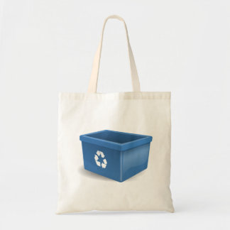 Recycling Bin Tote Bag