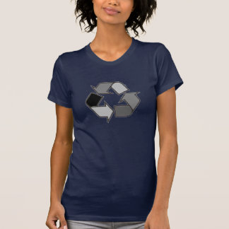 recycling black remodeled T-Shirt