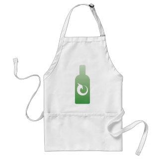 recycling bottles standard apron