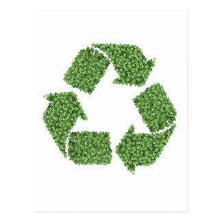 Recycling Bush Postcard