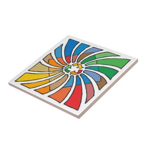 Recycling Ceramic Tiles