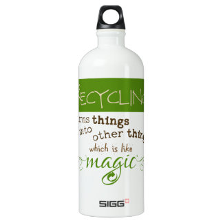 Recycling is Like Magic SIGG Traveller 1.0L Water Bottle