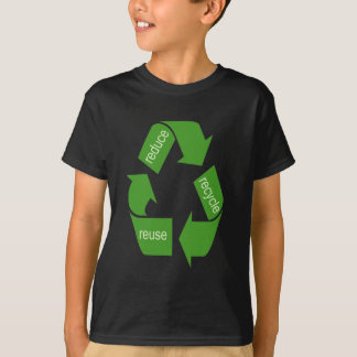 Recycling Recycle Iconic Green T-Shirt