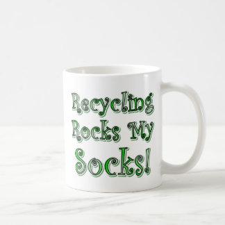 Recycling Rocks My Socks Mug
