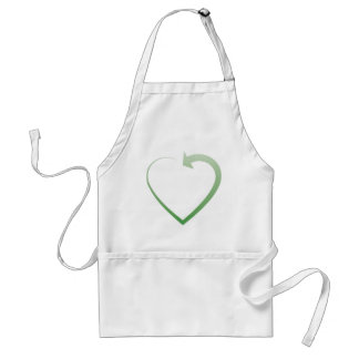 Recycling sign aprons