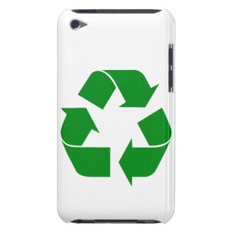 Recycling Symbol - Green Case-Mate iPod Touch Case