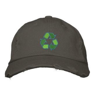 Recycling Symbol Hat Baseball Cap
