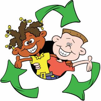 Recycling Symbol Kids Acrylic Magnet Photo Cutout
