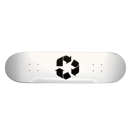 Recycling Symbol Skateboards