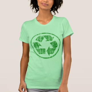 Recycling to Save the Planet Earth, Symbol T-Shirt