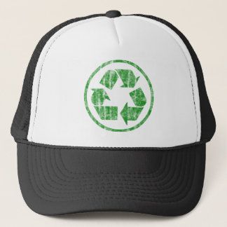 Recycling to Save the Planet Earth, Symbol Trucker Hat