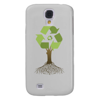 RECYCLING TREE SAMSUNG GALAXY S4 CASE
