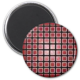 red042 6 cm round magnet