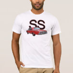 Red 1962 Chevy Impala SS t-shirt