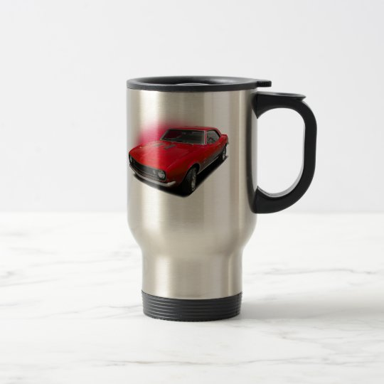 Red 67 travel mug