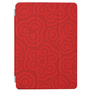 Red Abstract Pattern iPad Air Cover