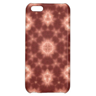 Red abstract pattern iPhone 5C covers