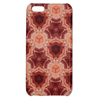 Red Abstract pattern Case For iPhone 5C