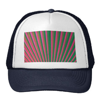 Red abstract shape hat