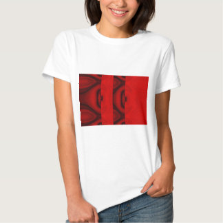 Red Abstract Shirts