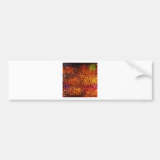Red abstract texture background bumper sticker