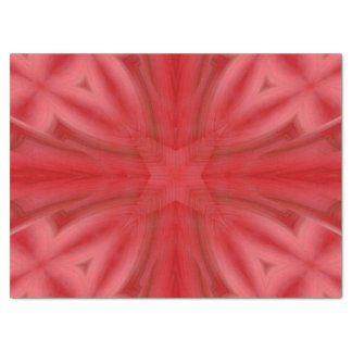 Red abstract wood Pattern Tissue Paper