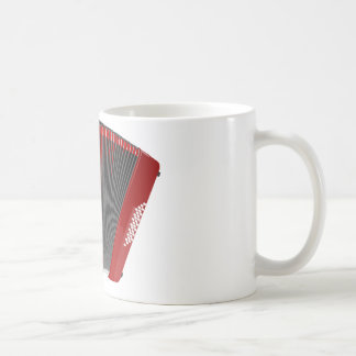 Red Accordion Mug