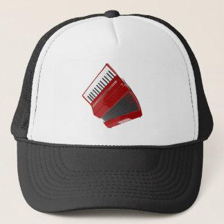 Red Accordion Trucker Hat