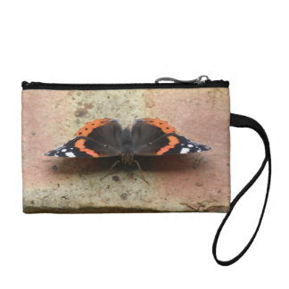 Red Admiral Butterfly Bagettes Bag