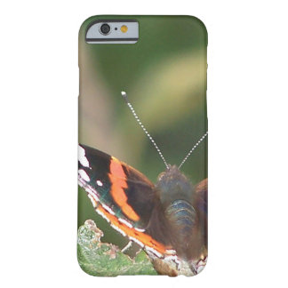 Red admiral butterfly barely there iPhone 6 case