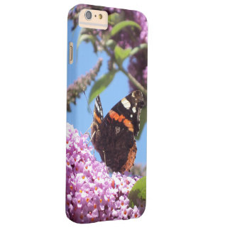 Red Admiral Butterfly Barely There iPhone 6 Plus Case