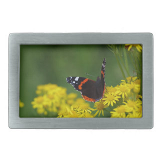 Red Admiral Butterfly Belt Buckle