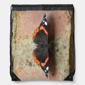 Red Admiral Butterfly Butterfly Backpack