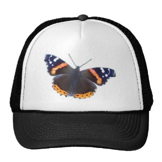 Red Admiral Butterfly Cap