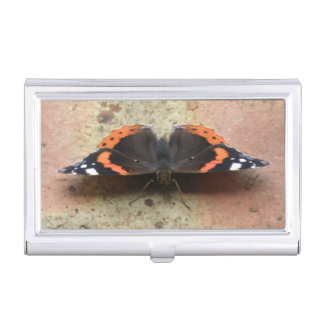 Red Admiral Butterfly Card holder
