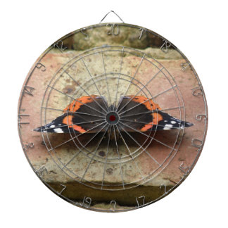 Red Admiral Butterfly Dart Board