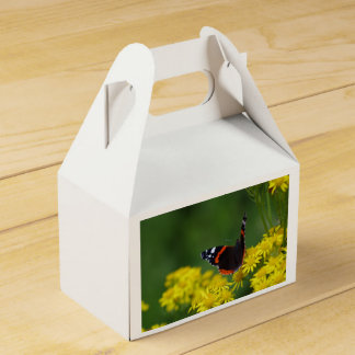 Red Admiral Butterfly Favour Box