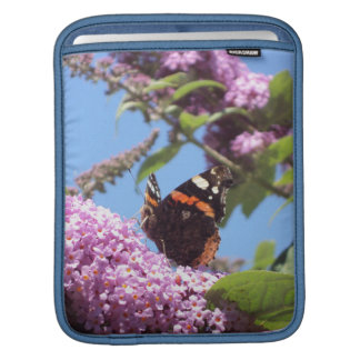 Red Admiral Butterfly iPad Sleeve