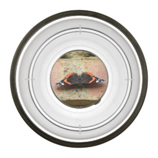 Red Admiral Butterfly Pet Bowl